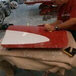 Wet sanding the doors