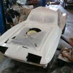 Buffing out the finish to insure a mirror finish