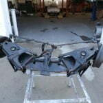 Used front suspension for replacement parts