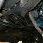 The old power steering system