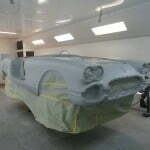 First coat of primer is on!