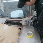 Paint stripping in the tight spots