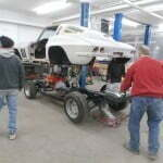 Aligning the body with the chassis