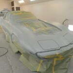 First primer coat is on!