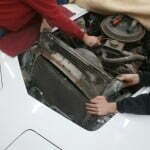 Removing the radiator