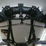 Steering components installed