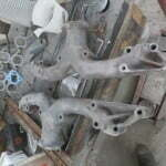 Cleaned up the exhaust manifolds