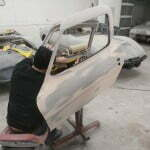 Masking off the doors