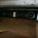Close up of the rear sound bar