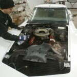 Cleaning the engine
