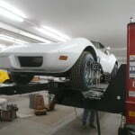 Performing a 4 wheel alignment