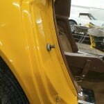 New rear quarter trim panels and painted retainers
